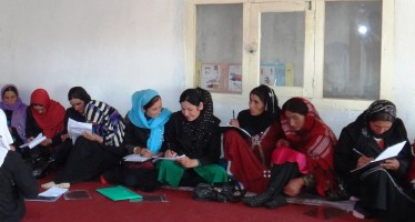 Afghan women in Badakhshan learn to assert their rights and responsibilities in the community