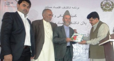 Regional Economic Development Plan for Badakhshan province launched