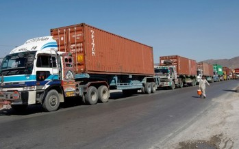 Transit problems dampen the spirit of Afghan traders