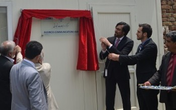 4 Business Communications Hubs established across Afghanistan