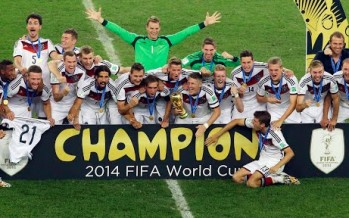 Last minute goal wins Germany 2014 FIFA World Cup
