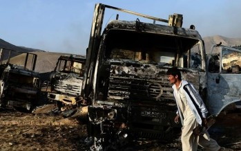 Government must compensate Afghan drivers for the truck damages: ACCI