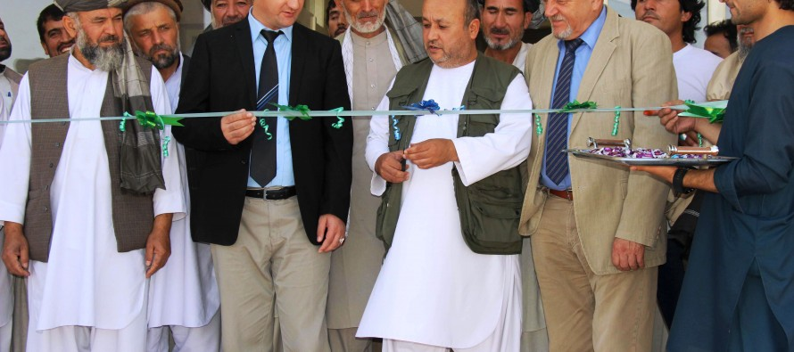 Afghanistan and Germany open training institute for Community Development Council