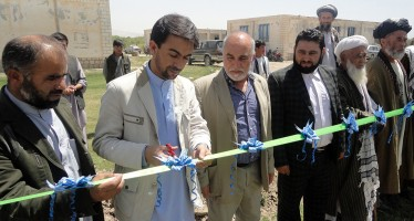 More security and privacy for Ghullam Sarwari Shahid Girls' High School in Takhar
