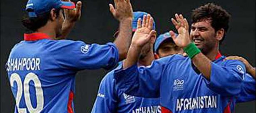 Afghanistan cricket team declared winner of the Zimbabwe series trophy