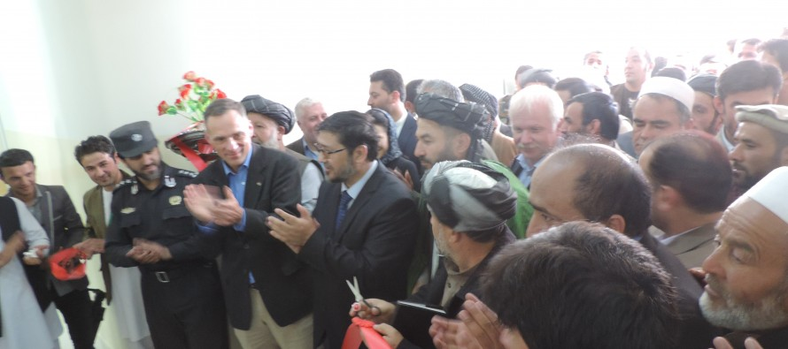 A hospital and 3 schools inaugurated in Takhar with German support