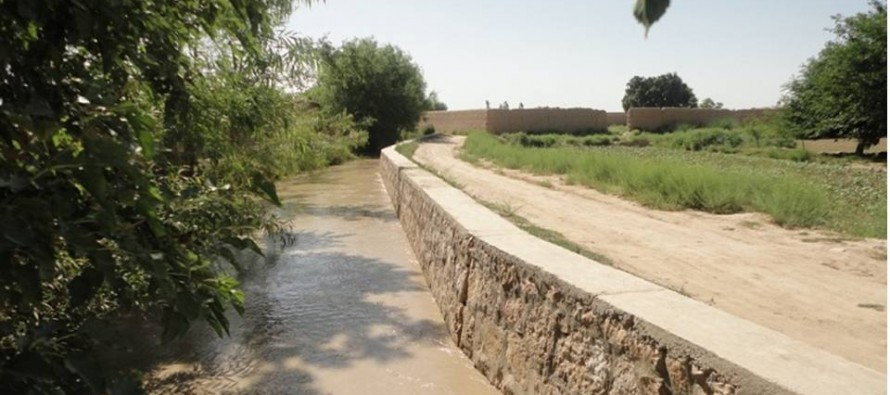Development projects implemented in Balkh province