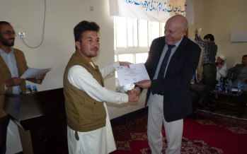 Germany funds first AutoCAD software training for 51 civil engineers in Kunduz
