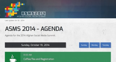 Second Annual Afghan Social Media Summit to be held on October 19th