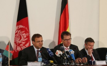 Germany and Afghanistan commit to strong partnership