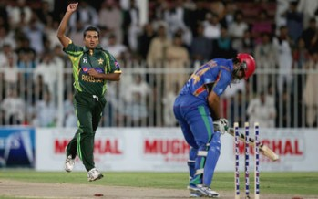 Afghanistan wins by 54 runs againt Pakistan in a friendly match