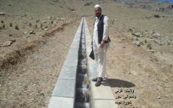 Eleven NSP projects completed in Ghazni Province