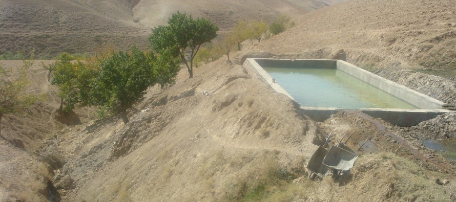 Roads and irrigation canals completed in Badghis province