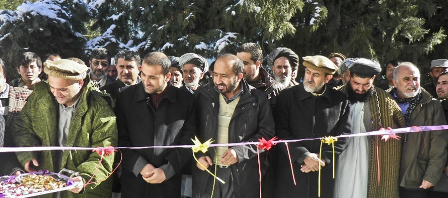 New health and education projects completed in northern Takhar