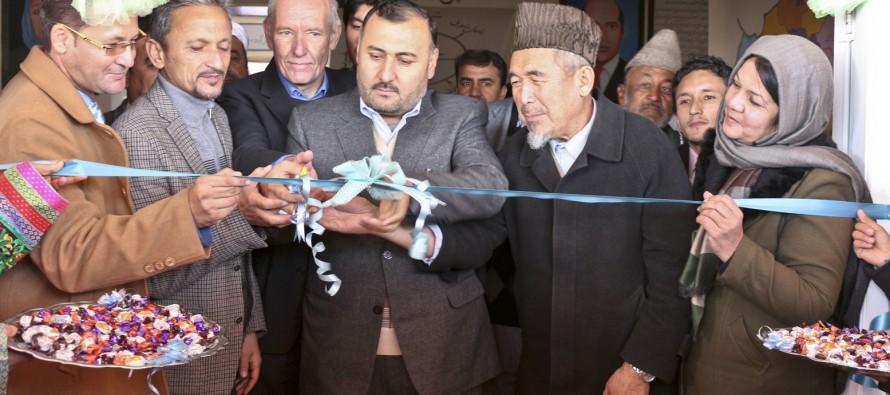 A girls' high school in Mazar gets new school building