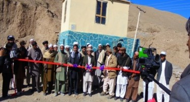 NSP implements development projects in Paktia Province