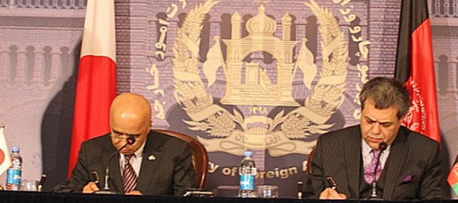 Afghanistan, Japan sign USD 20mn non-project grant agreement