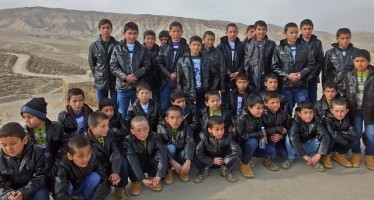Orphanages in Aybak get hygiene coaching, winter clothing and heaters with German help