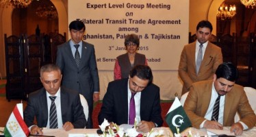 Afghanistan, Pakistan, Tajikistan to agree on a transit trade agreement in 3 months
