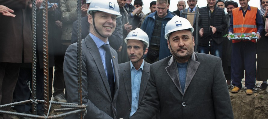 Construction of new engineering college starts in Balkh with German funding