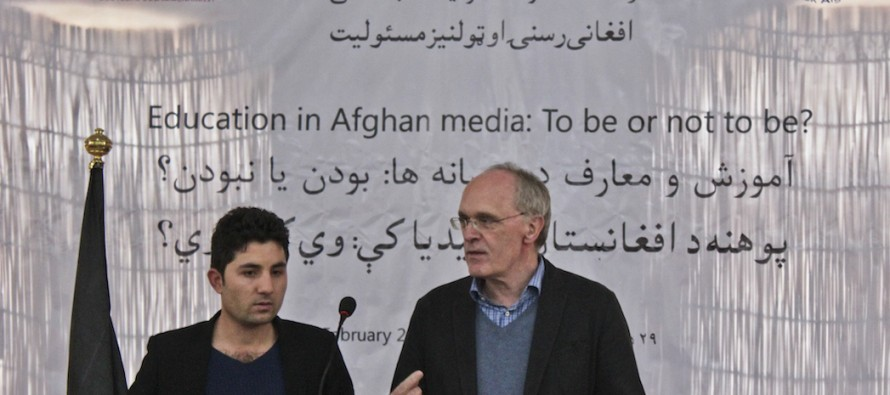 The Afghan education revolution and the role the media play