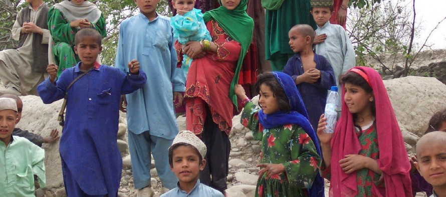 79 Afghan children to be sent to Germany for treatment