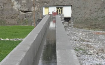 Infrastructure projects completed in Kunar Province