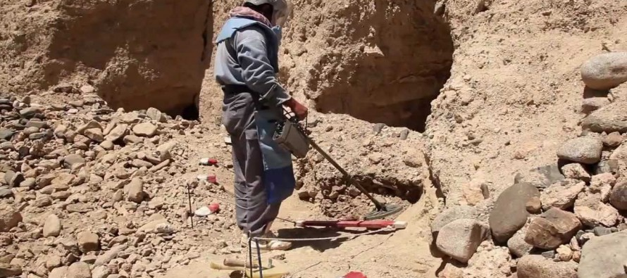 80% of Afghanistan is cleared of mines