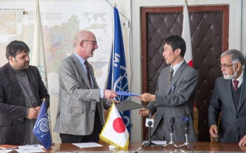 Japan Supports Natural Disaster Risk Management Activities in Afghanistan