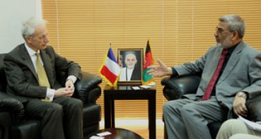 France pledges to continue helping Afghanistan