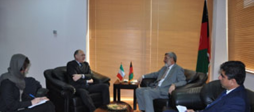Italy Pledges 5 million Euros to the Ministry of Rural Rehabilitation and Development