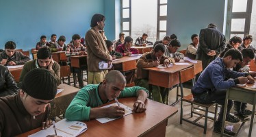 Enrollment of Afghan apprentices in technical and vocational institutes in Mazar and Kabul