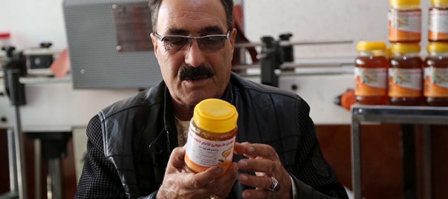 The taste of Afghan honey proves irresistible