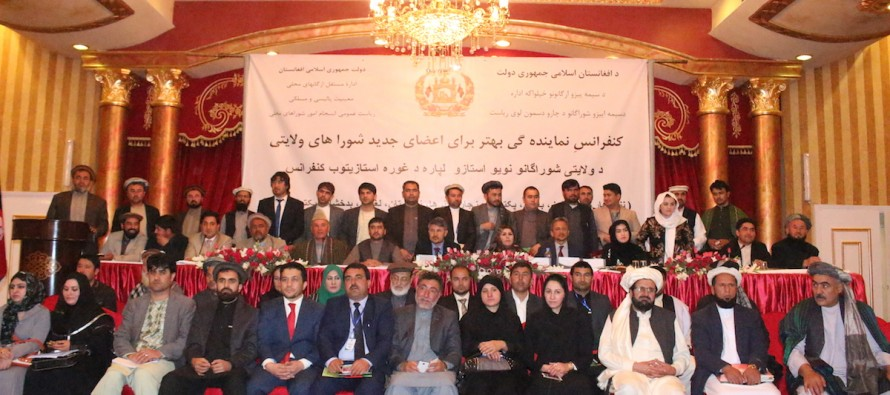 Afghan provincial councillors complete training for future posts
