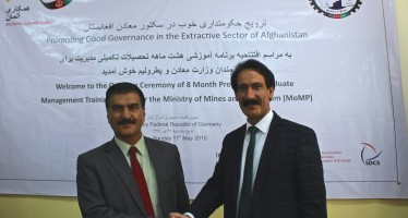 Afghan Mines Ministry improving ability to manage mining sector