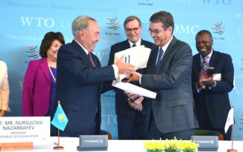 WTO approves Kazakhstan's membership after 19-year negotiations