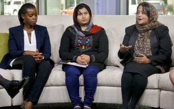 Afghan female entrepreneurs in the US for mentoring