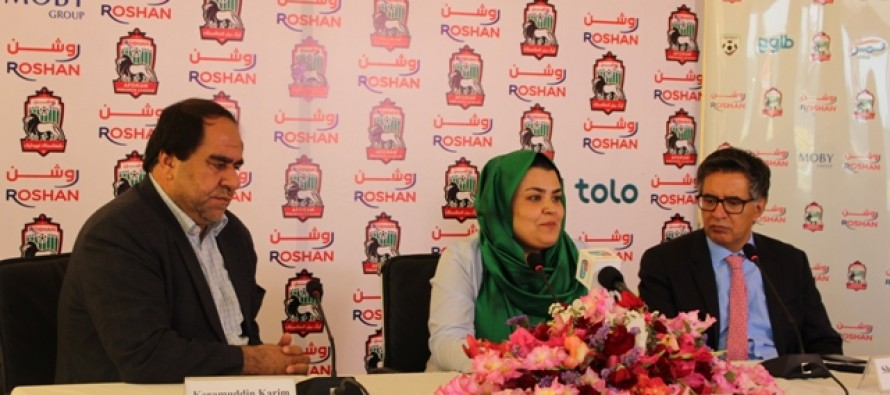 Roshan to sponsor Afghanistan's top football league for another 3 years