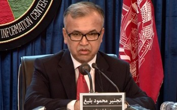 Uplift projects to be launched in Baghlan and Khost
