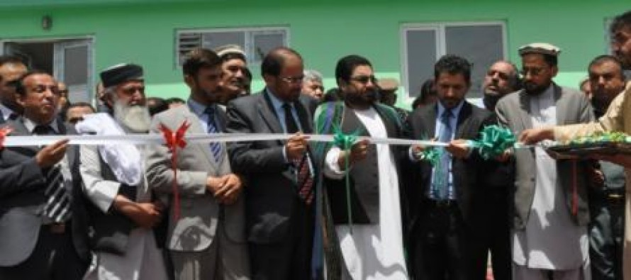 Completion of 13 horticultural storehouses in six provinces of Afghanistan