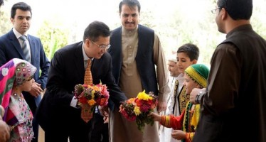Chinese ambassador meets with businessmen in Kandahar