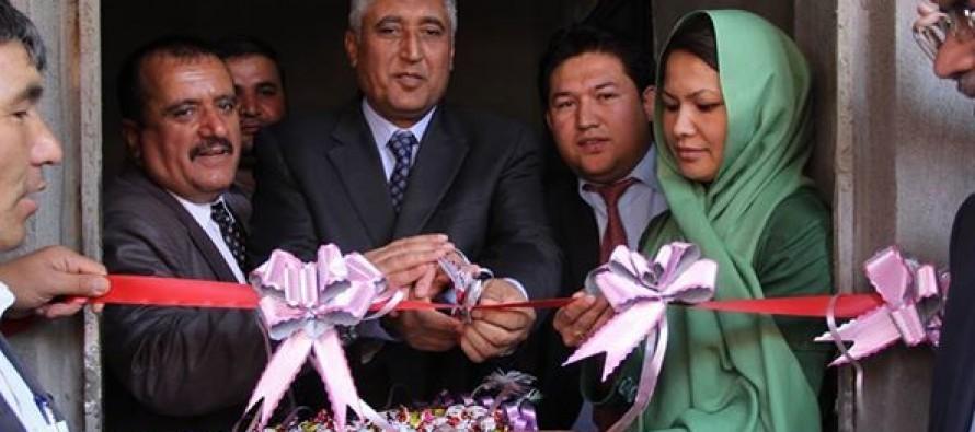 A new girls' school opens in Herat city