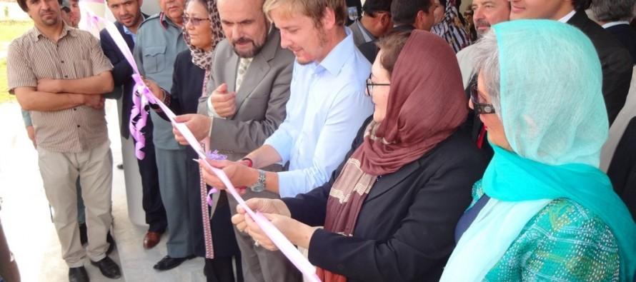 Two facilities inaugurated in Badakhshan University