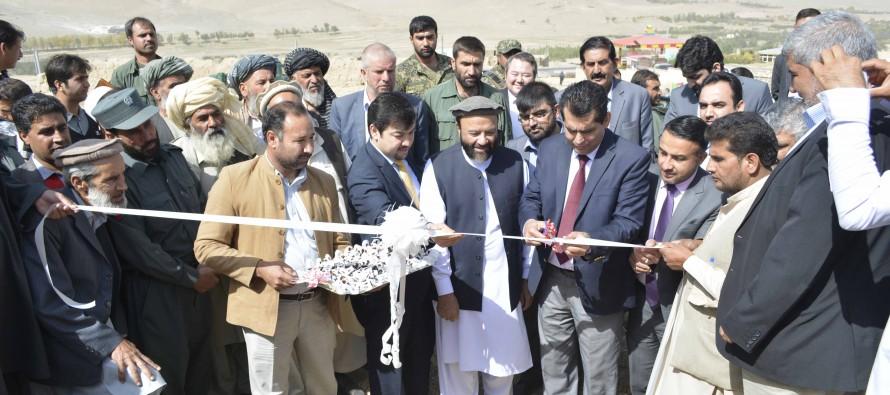220/20 KV substation inaugurated in Southwest Kabul