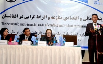 Afghanistan suffers USD 9bn in losses due to conflict and insurgency
