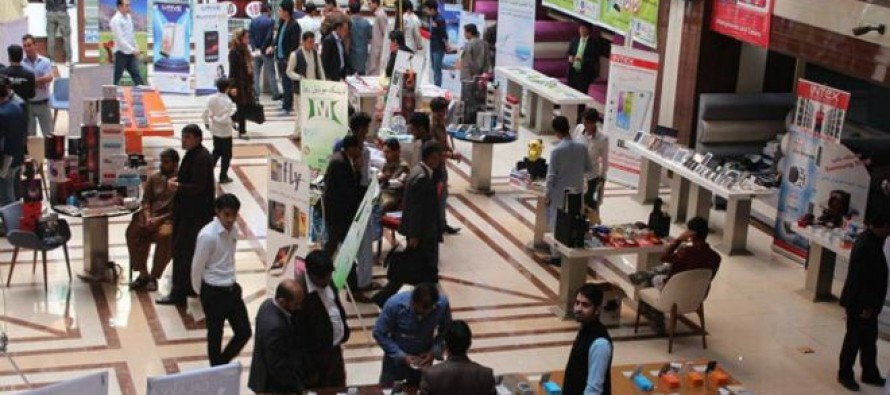 2-day mobile phone exhibition held in Kabul