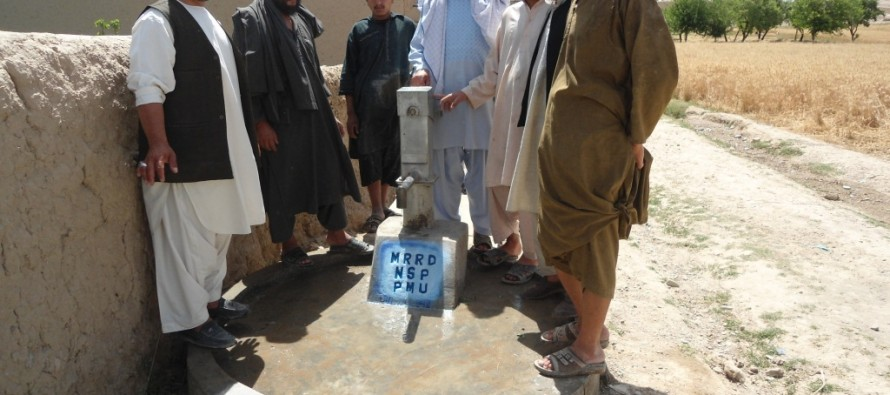 Completion of 8 development projects in Uruzgan province