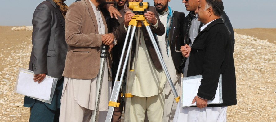 150 Afghan engineers complete training in topography survey skills