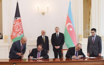 Afghanistan, Azerbaijan sign several agreements