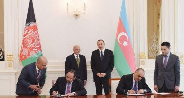 Afghanistan, Azerbaijan sign several agreements